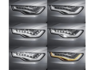Audi Head Light